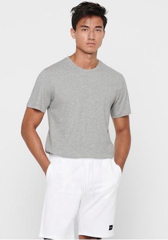 ONLY & SONS Rundhalsshirt »ONSMATT LONGY TEE« kaufen