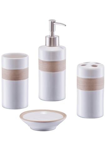 Zeller Present Badaccessoires-Sets, aus hochwertiger Keramik kaufen