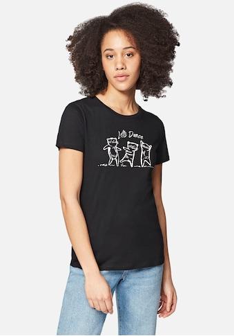 Mavi T-Shirt »LETS DANCE CATS«, mit coolen Katzen Frontdruck kaufen
