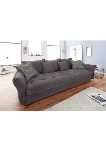 INOSIGN Big-Sofa »Palladio Luxus«, mit besonders hochwertiger Polsterung für bis zu 140 kg pro Sitzfläche, wahlweise LED-Beleuchtung kaufen