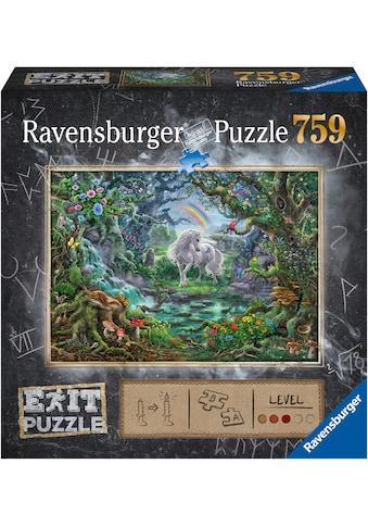 Ravensburger Puzzle »Exit 9: Das Einhorn«, Made in Germany, FSC® - schützt Wald - weltweit kaufen