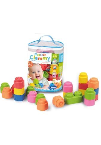 Clementoni® Spielbausteine »Soft Clemmy - Bausteine im Beutel«, (24 St.) kaufen