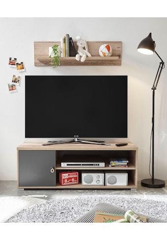 Begabino TV-Bank »Merlin«, mit Seilgriffen, im modernen Dekor Old Style hell kaufen