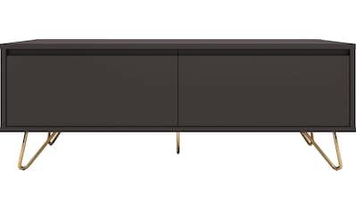 SalesFever Lowboard, mit Hairpin Beinen, modernes TV-Board, Fernsehschrank mit Klappendämpfer kaufen