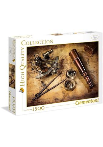 Clementoni® Puzzle »High Quality Collection - Kurs auf den Schatz«, Made in Europe kaufen