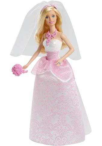 Barbie Anziehpuppe »Braut, blond« kaufen
