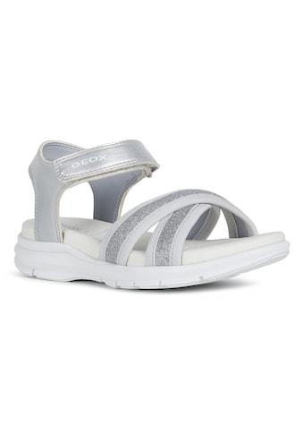 Geox Kids Sandale »Sukie«, in cooler Glitzer-Optik kaufen