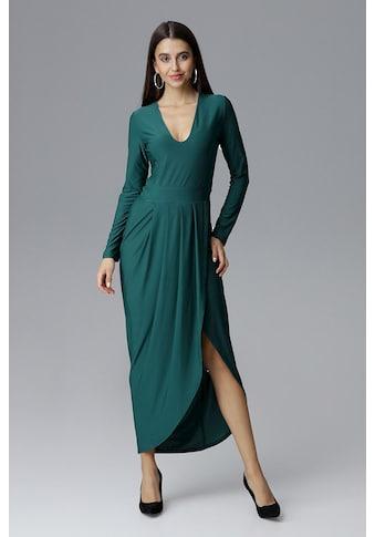 FIGL Abendkleid mit elegantem Beinschlitz kaufen