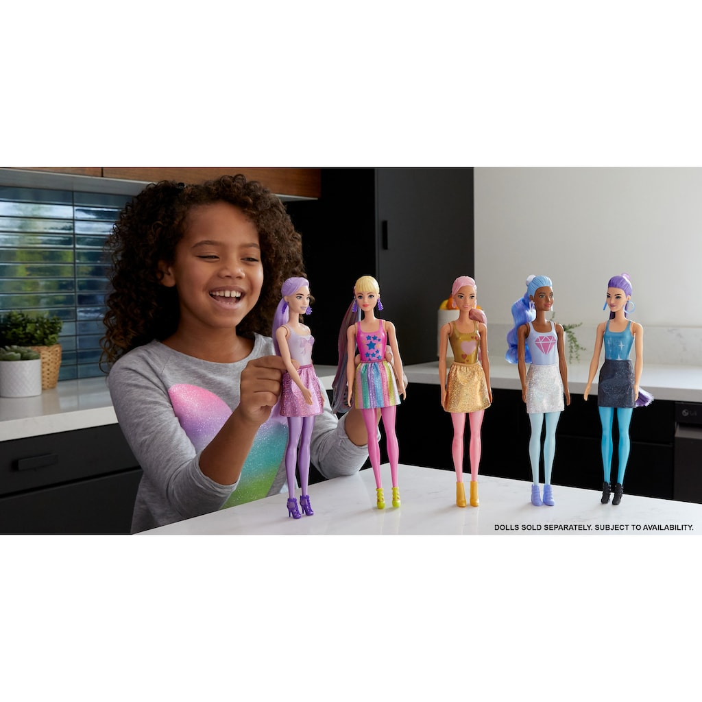 Barbie Anziehpuppe »Color Reveal, Glitzer«