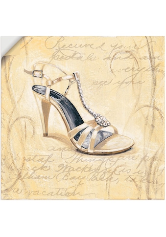 Artland Wandbild »Stiletto I - Schuh«, Mode, (1 St.), in vielen Größen & Produktarten... kaufen