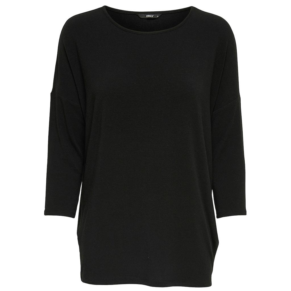 Only 3/4-Arm-Shirt »ONLGLAMOUR«, in lässiger Oversize-Form