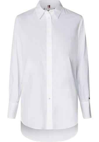TOMMY HILFIGER Hemdbluse »LACIE GIRLFRIEND SHIRT LS W4« kaufen