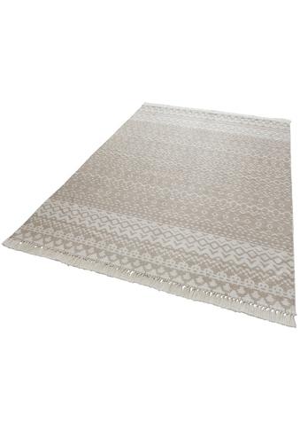 andas Teppich »Noa«, rechteckig, 3 mm Höhe, Pastell-Farben, Wohnzimmer kaufen