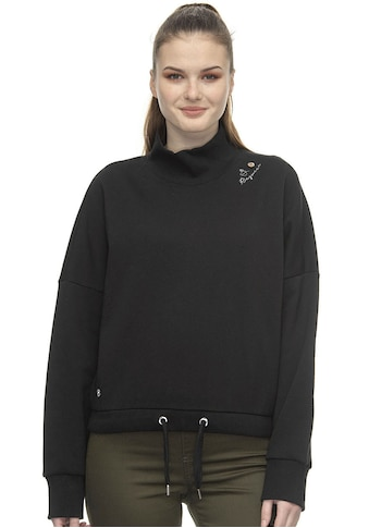 Ragwear Sweater »SAVERIA«, mit Zierknopfapplikation und Logostickerei kaufen