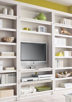 TV-Regal aus Holz