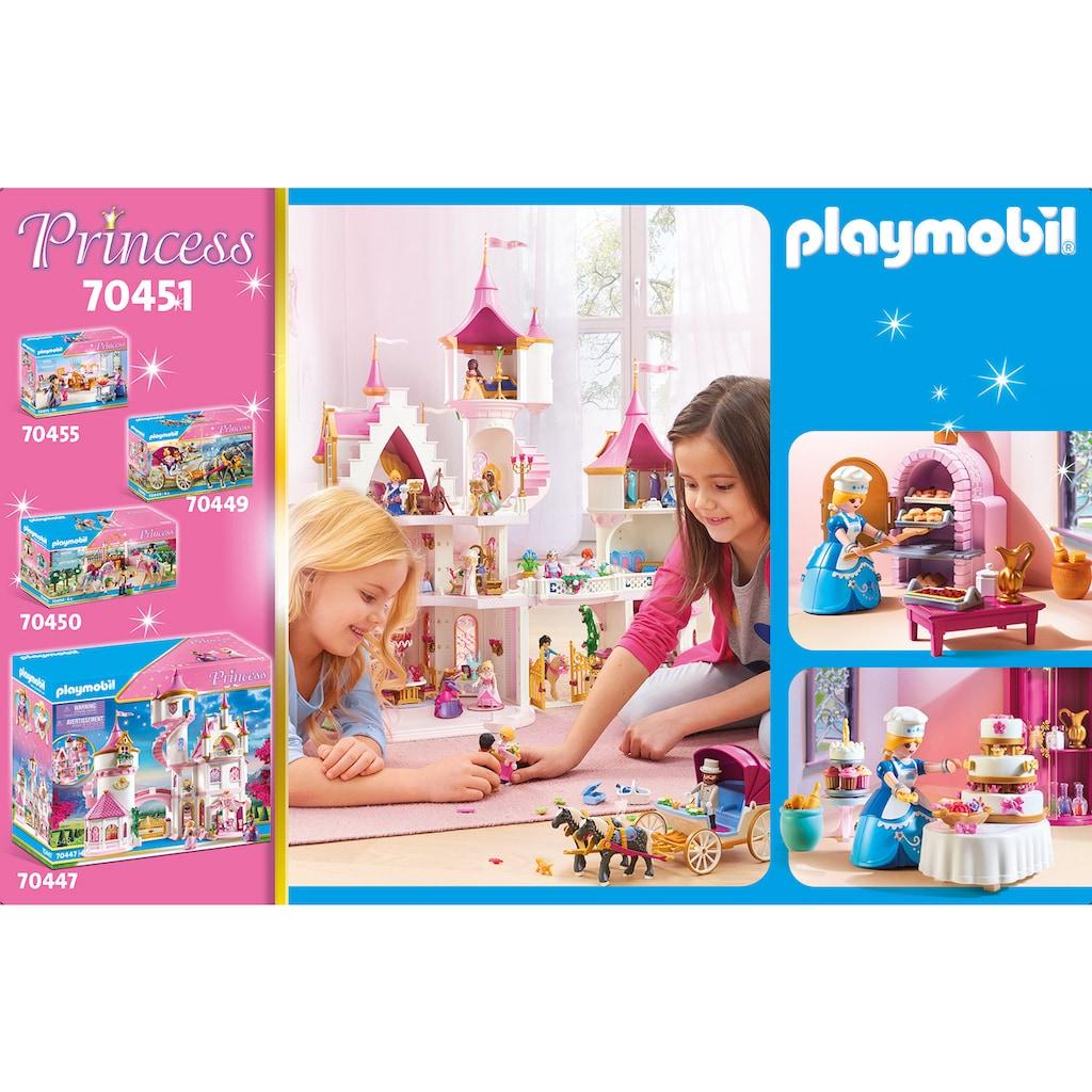 Playmobil® Konstruktions-Spielset »Schlosskonditorei (70451), Princess«, (133 St.), Made in Germany