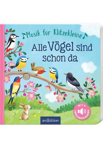 """Buch »Musik für Klitzekleine - Alle Vögel sind schon da / Gerald """"Greulix"""" Schrank, Ag Jatkowska« kaufen"""