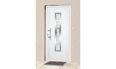 KM Zaun Haustür »K640«, BxH: 98x198 cm, weiß, in 2 Varianten kaufen