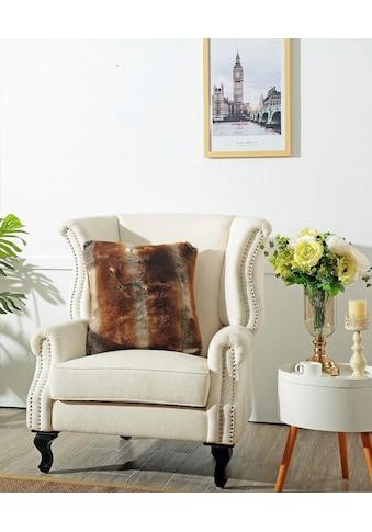 Star Home Textil Dekokissen »Zobel«, aus besonders weichem Webpelz kaufen