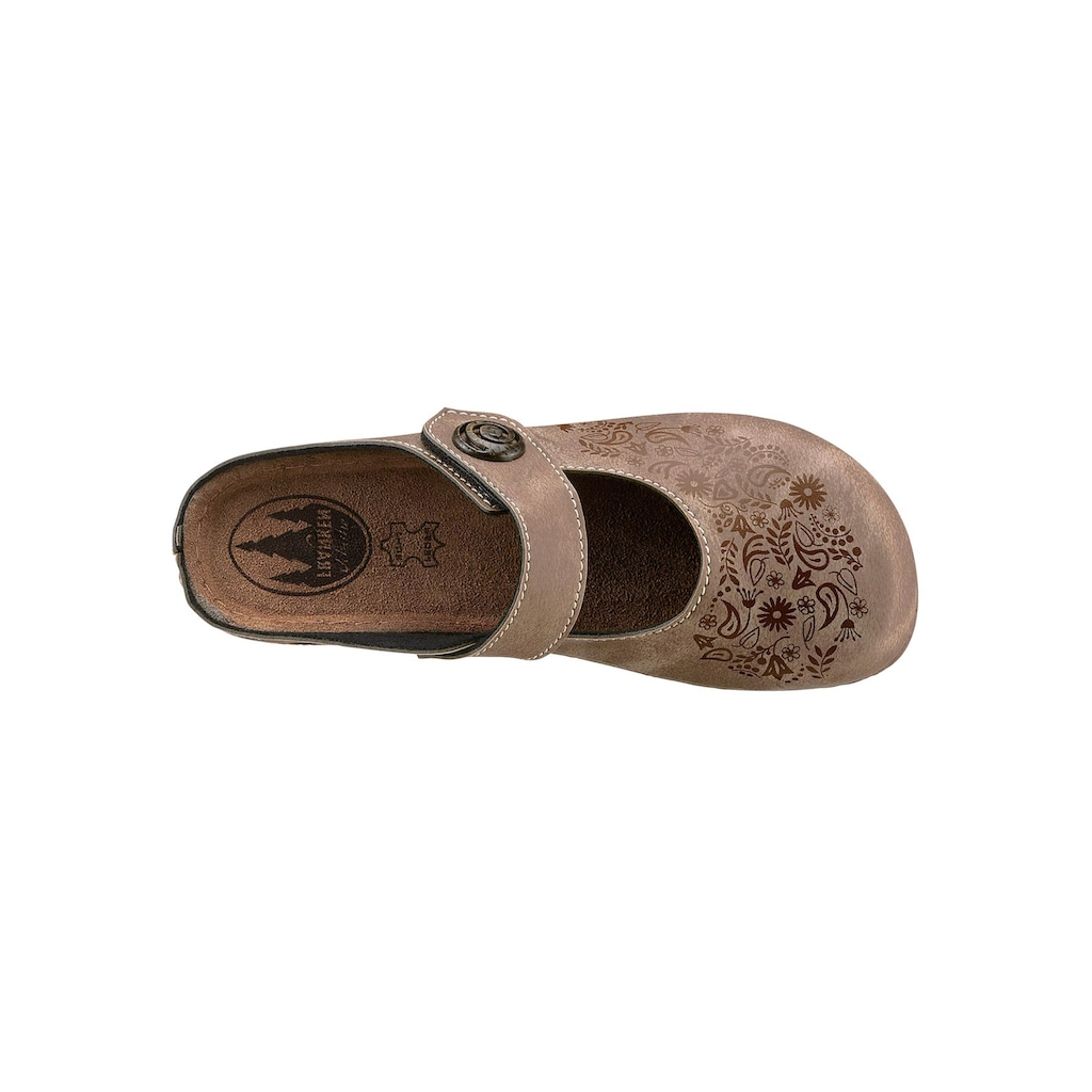 Franken-Schuhe Clog