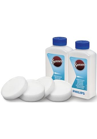 Senseo »CA6521/00« Flüssigentkalker (2x 250 ml Entkalkungsflüssigkeit, 2x dünne und 2x dicke Entkalkungspads) kaufen