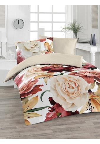 Florella Wendebettwäsche »Renise, Baumwoll-Soft-Renforcé«, mit wunderschönem Digitaldruck kaufen