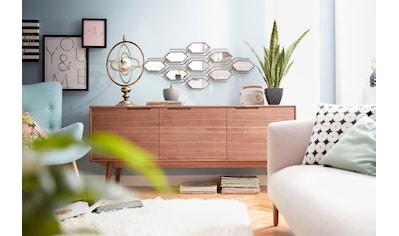 PBJ Sideboard »Curve«, walnut, im nordischen Design kaufen