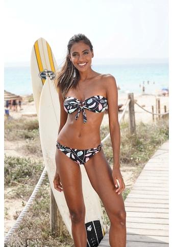 Sunseeker Bikini-Hose »Leaves«, mit seitlichen Ringen kaufen