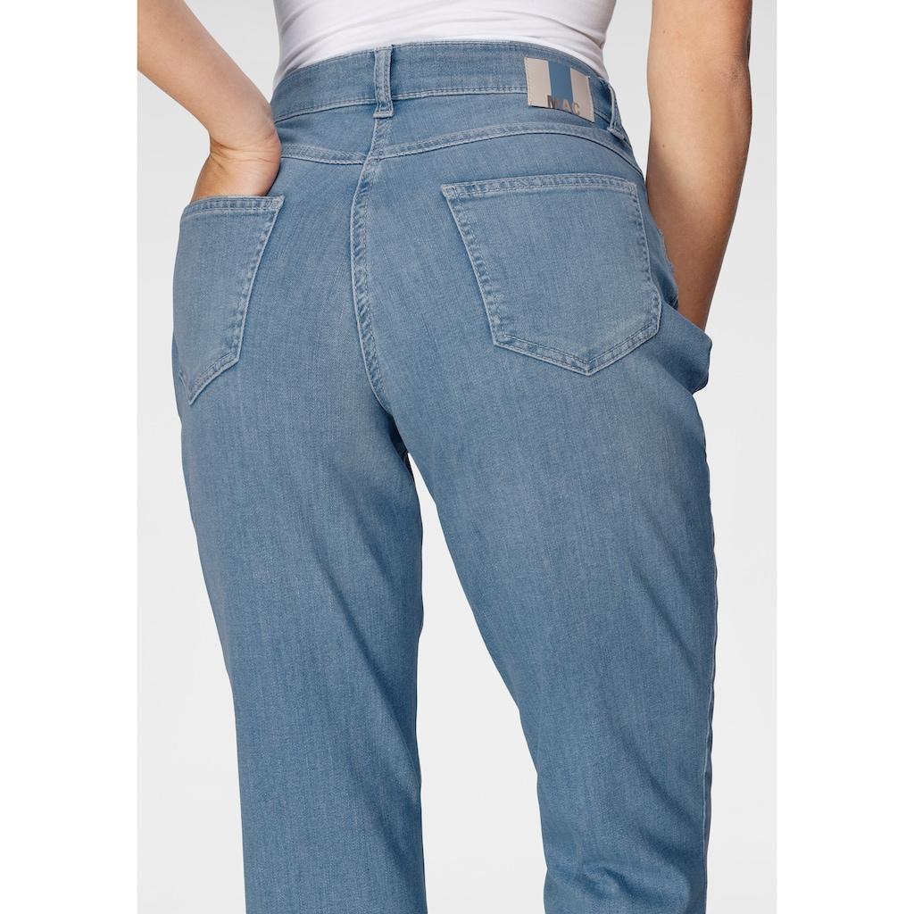 MAC Gerade Jeans »Melanie New«, Neue Teilungsnähte an den vorderen Taschen