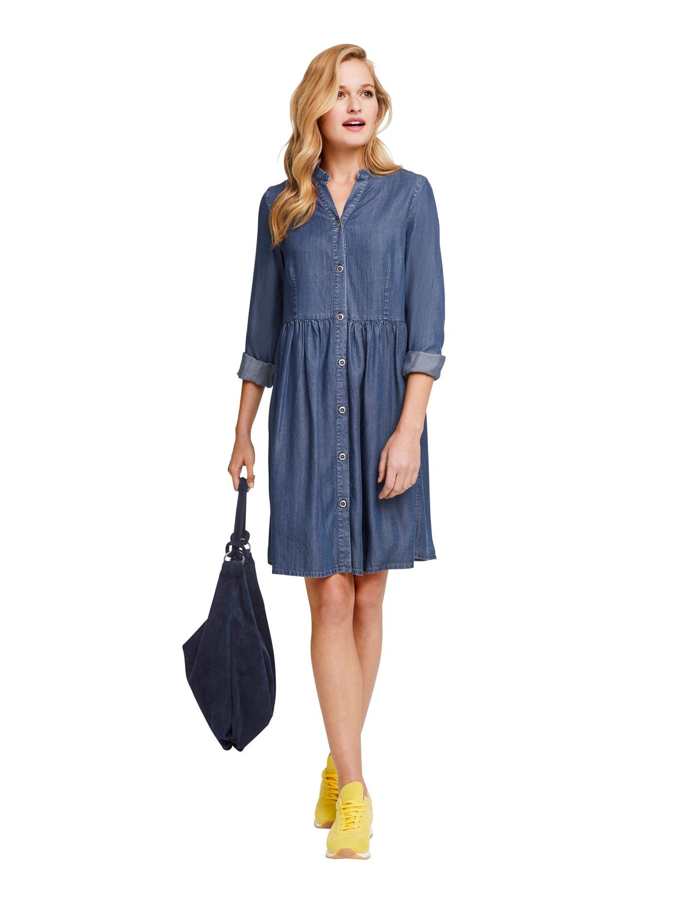 Linea Tesini By Heine Jeanskleid Jeans Kleid Online Bestellen