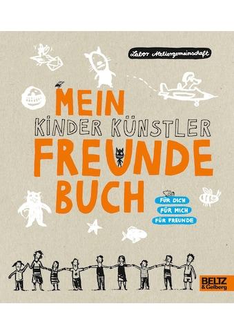 Buch »Mein Kinder Künstler Freundebuch / Labor Ateliergemeinschaft« kaufen