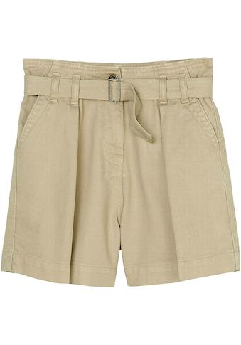 Marc O'Polo Junior Shorts, mit modsichen Bundfalten kaufen
