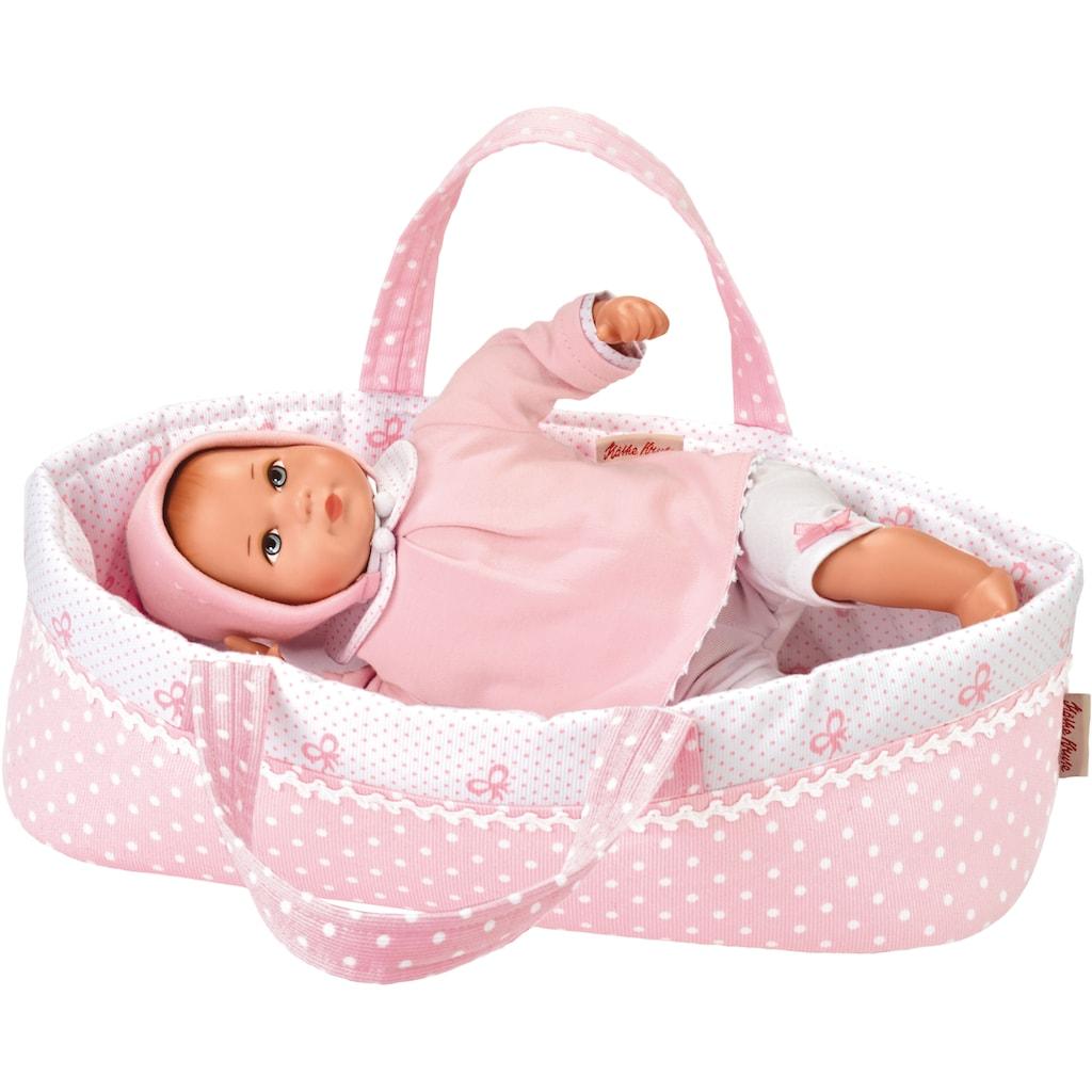 Käthe Kruse Babypuppe »Mini Bambina Anna mit Tasche«, (1 tlg.)