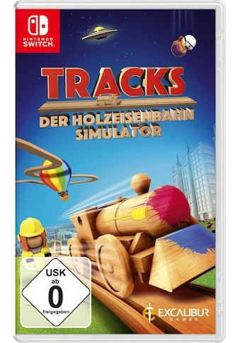 Spiel »Tracks - Der Holzeisenbahn Simulator«, Nintendo Switch kaufen