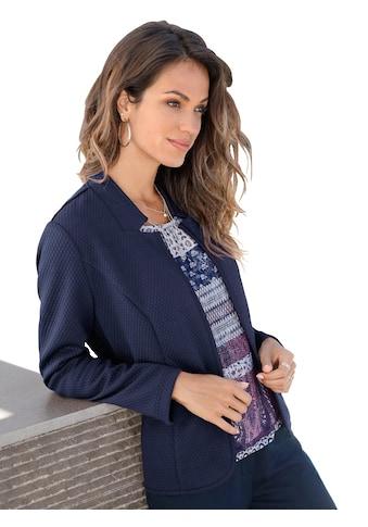 Classic Inspirationen Shirtjacke mit Jacquardmuster kaufen