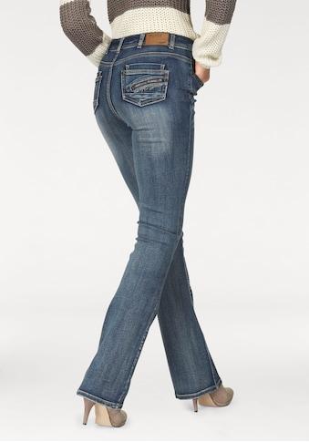 Arizona Bootcut - Jeans »mit Zippertasche« kaufen
