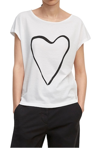 Marc O'Polo T-Shirt, mit großem Print vorne kaufen