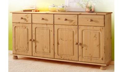 Home affaire Sideboard »Mette«, aus schönem massivem Kiefernholz, in weiteren... kaufen
