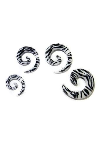 Vivance Dehnschnecken - Set »Zebra« (Set, inkl. Schmuckbox) kaufen