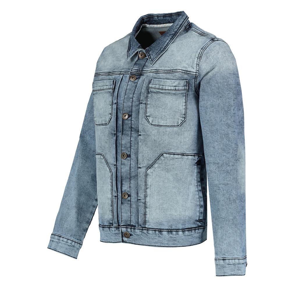 SUBLEVEL Jeansjacke, mit Taschen
