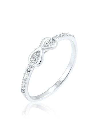 Elli Fingerring »Infinity Kristalle Edel Cute 925 Silber« kaufen