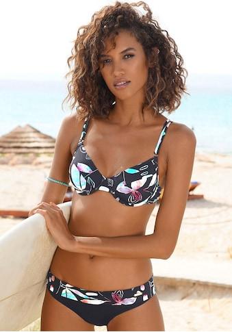 Sunseeker Bikini-Hose »Leaves«, mit Umschlagbund kaufen