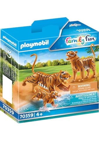Playmobil® Konstruktions-Spielset »2 Tiger mit Baby (70359), Family Fun«, Made in Europe kaufen