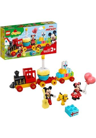 LEGO® Konstruktionsspielsteine »Mickys und Minnies Geburtstagszug (10941), LEGO®... kaufen