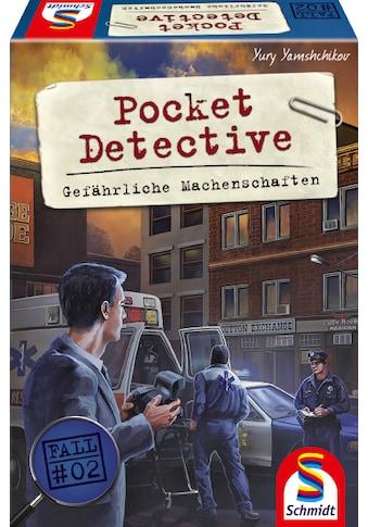 Schmidt Spiele Spiel »Pocket Detective, Gefährliche Machenschaften« kaufen