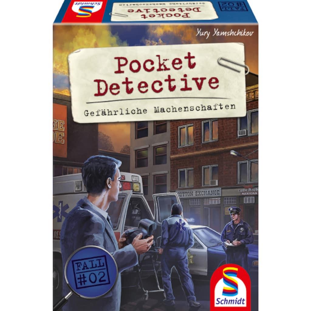Schmidt Spiele Spiel »Pocket Detective, Gefährliche Machenschaften«