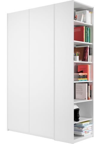 Müller SMALL LIVING Kleiderschrank »Modular Plus Variante 1«, inklusive links oder rechts montierbarem Seitenregal kaufen