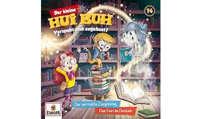 Musik-CD »014/Der verrückte Zeugnistag/Das Fest im Dunkeln / kleine Hui Buh,Der« kaufen