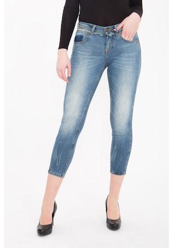 ATT Jeans 3/4-Jeans »Belinda«, mit Nieten Details, Slim Fit kaufen