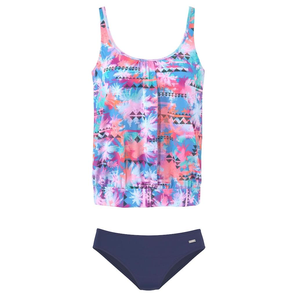 Venice Beach Tankini, mit schönem Sommerprint